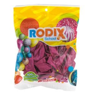 GLOBO RODIX NO.9 BX25 METALICO FUCSIA (200)