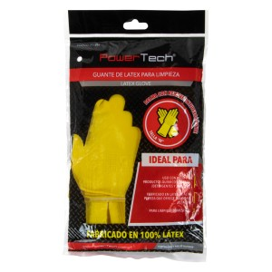 "GUANTE DE LATEX POWER TECH TALLA ""M"" 2"