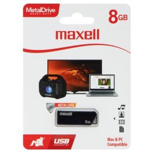 MEMORIA MAXELL USB 8GB METAL CASE