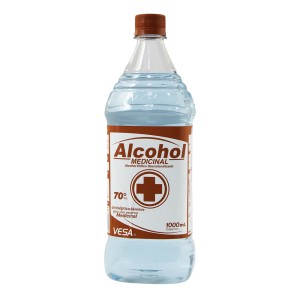 ALCOHOL ETILICO VESA 70% 1000 ML. 2