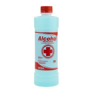 ALCOHOL ETILICO VESA 70% 500 ML. 2