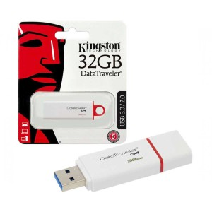 MEMORIA KINGSTON USB 3.0 32GB DTIG4 RED