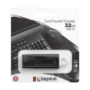 MEMORIA KINGSTON USB 3.2 32GB DTX EXODIA WHITE