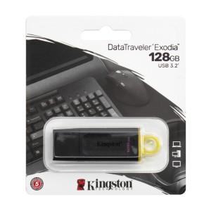 MEMORIA KINGSTON USB 3.2 128GB DTX EXODIA YELLOW