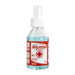 ALCOHOL ETILICO VESA 70% SPRAY 120ML